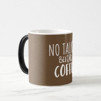 Ninguna película hablada antes de la taza de café