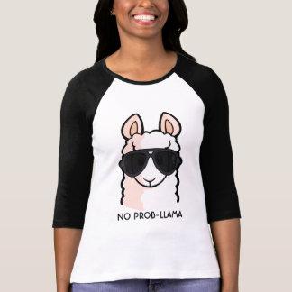 Ninguna Prob-Llama Camiseta
