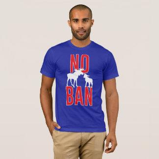 Ninguna prohibición del cordero de los alces camiseta