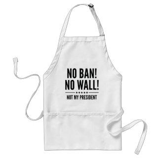 ¡Ninguna prohibición! ¡Ninguna pared! Delantal