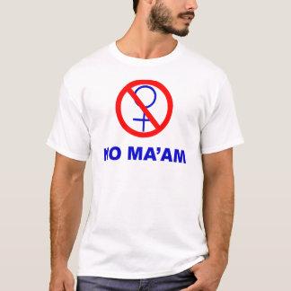 Ninguna señora Shirt Camiseta