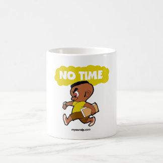 Ninguna taza creativa del tiempo
