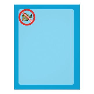 Ninguna zona del matón folleto 21,6 x 28 cm