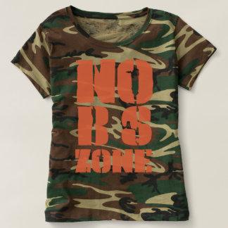 Ningunas BS dividen la camiseta del camuflaje en