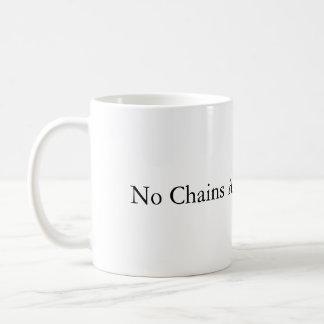 Ningunas cadenas alrededor de mi taza del cerebro