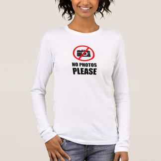 Ningunas fotos satisfacen camiseta de manga larga