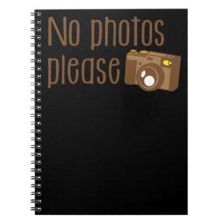 Ningunas fotos satisfacen con la cámara del libretas