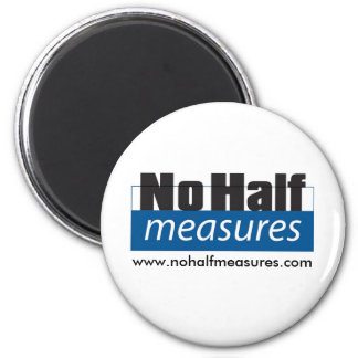 Ningunas medias medidas - imán