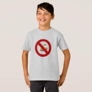 Ningunos cacahuetes - camiseta de la alergia del