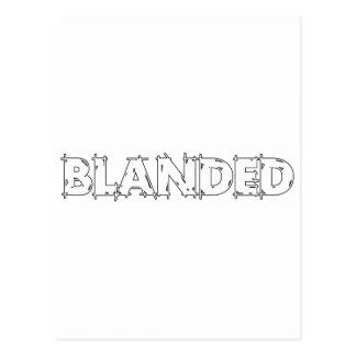 Ningunos califican el lema de Blanded Postal