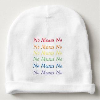 Ningunos medios ninguna gorrita tejida gorrito para bebe