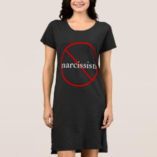 Ningunos Narcissists - vestido casual del algodón