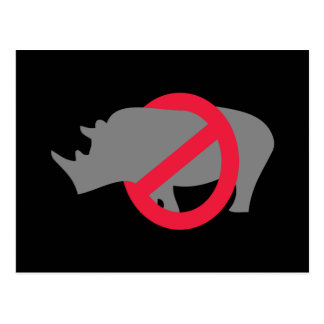 Ningunos Rhinos - tipo de Rino Postal