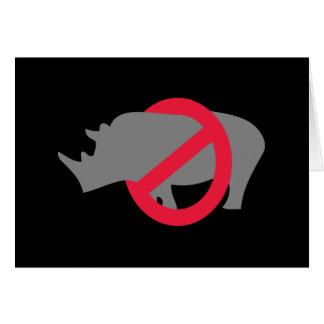 Ningunos Rhinos - tipo de Rino Felicitaciones