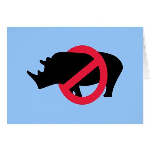 Ningunos Rhinos - tipo de Rino Felicitacion