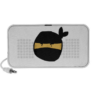 Ninja negro iPhone altavoz