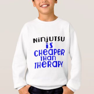 Ninjutsu es más barato que terapia sudadera
