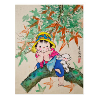 Niño de Chinestyle Postal