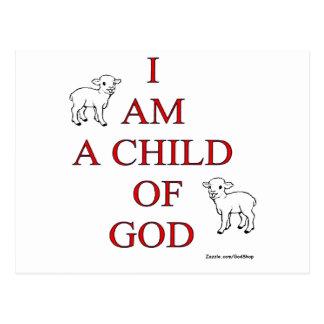 Niño de dios postal