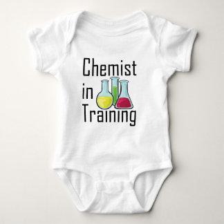 Niño de la química del estudiante del químico body para bebé