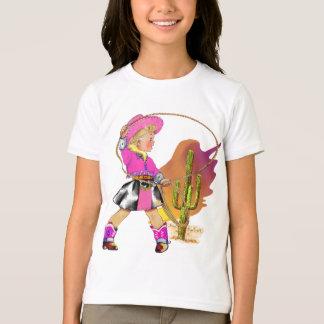 Niño de la vaquera camiseta