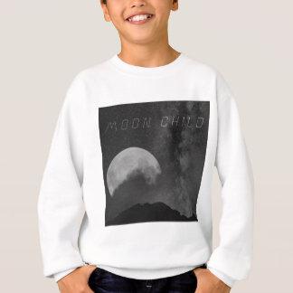 Niño de luna del cadete del espacio sudadera