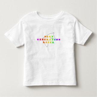 Niño del color del jinete de la generación camiseta de bebé