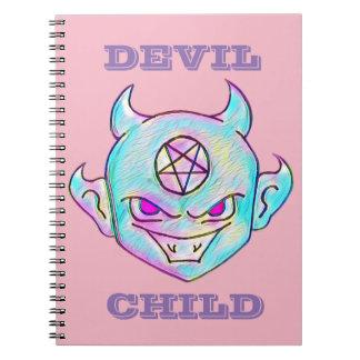 Niño del diablo cuaderno