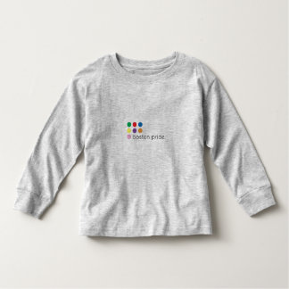 Niño del orgullo de Boston de largo Camisetas