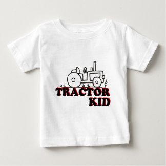 Niño del tractor camisas