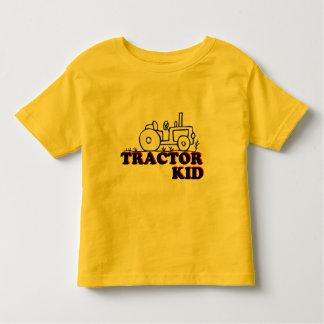 Niño del tractor camiseta