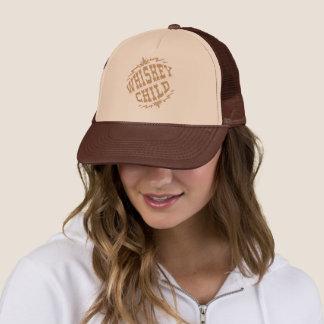 NIÑO del WHISKY - logotipo de la cosecha del gorra