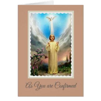 Niño Jesús de Cristo del Espíritu Santo de la Tarjeta De Felicitación