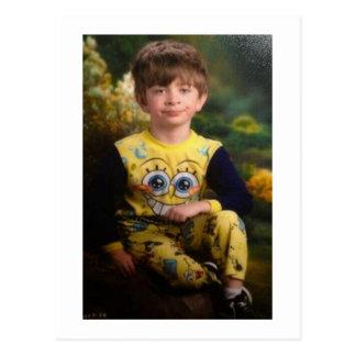 Niño Pissed del pijama Postal