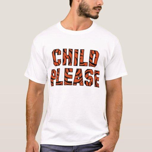 """Niño por favor""     () Camiseta"