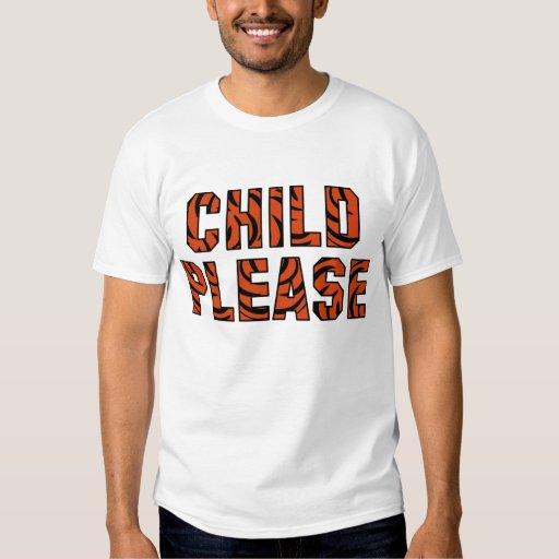 """Niño por favor""     () Camisetas"