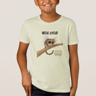 Niño salvaje - Lemur enano Melenudo-espigado Camisas