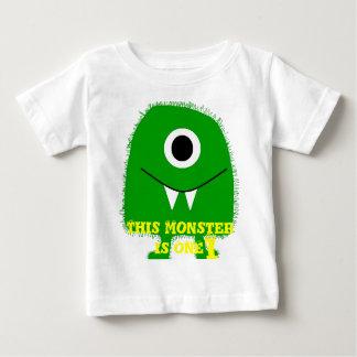 Niños/camisa del monstruo de los niños camiseta de bebé