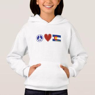 Niños de Colorado del amor de la paz