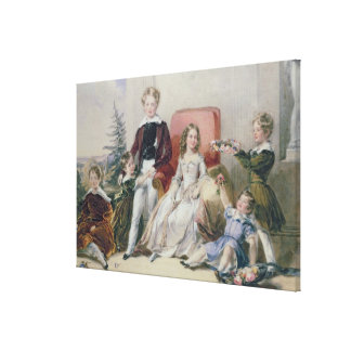 Niños de Elhanan Bicknell Impresión En Lienzo