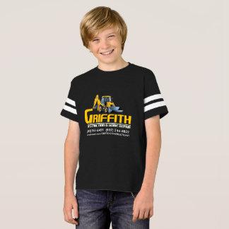 NIÑOS de Griffith Constructioin (ayuda de la Camiseta