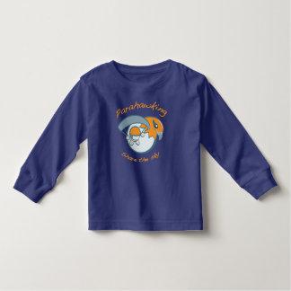 Niños de la blusa de manga larga del niño camisetas