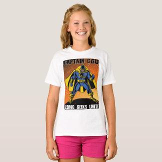 Niños de la camisa de capitán CGU