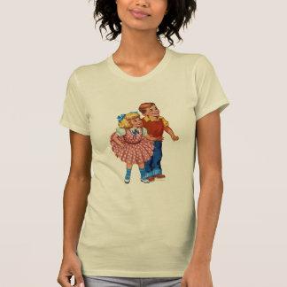 Niños de la tierra del caramelo camiseta