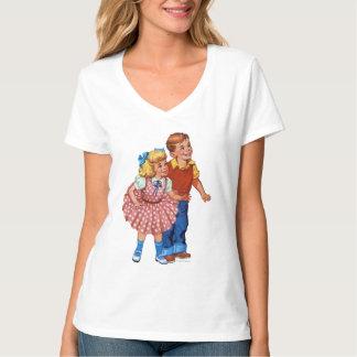 Niños de la tierra del caramelo camisetas