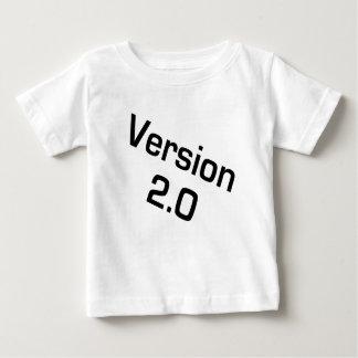 Niños de la versión 2,0/camisa infantil del friki camiseta de bebé