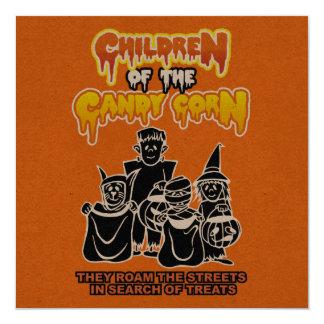 Niños de las pastillas de caramelo: Fiesta de Invitación 13,3 Cm X 13,3cm