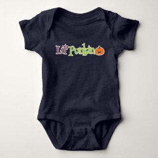 Niños de Lil Punkin Halloween y camiseta del bebé