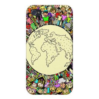 Niños del mundo iPhone 4 cobertura