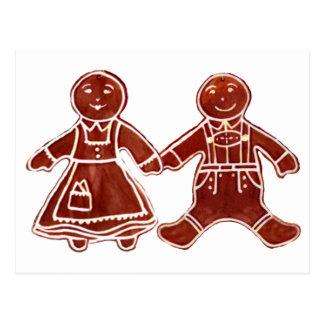 Niños del pan de jengibre 3 los regalos de Zazzle Postal
